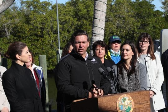 Governor Ron DeSantis Unveils Major Environmental Reforms