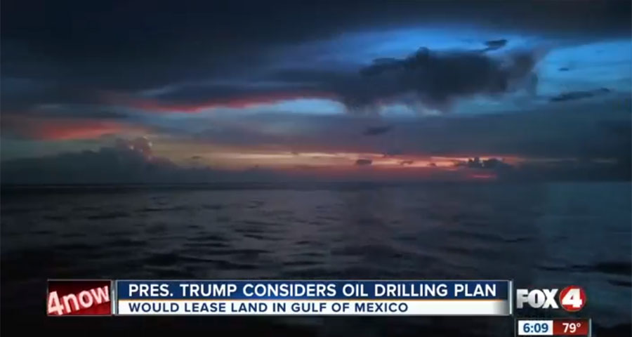 Oil Drilling Discussion has Trump Supporters Worried