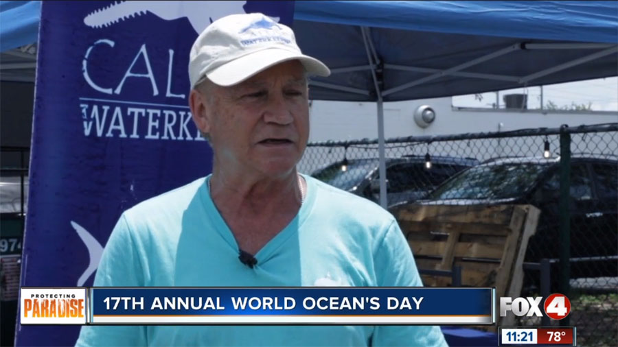 Activists Spread Awareness for World Oceans Day