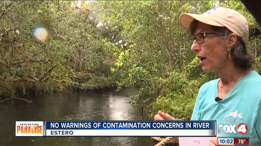 High Levels of Bacteria Found in Estero River