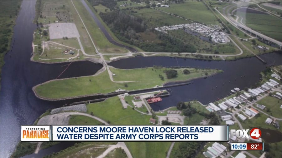 Concerns Moore Haven Lock Released Water Despite Army Corps Reports