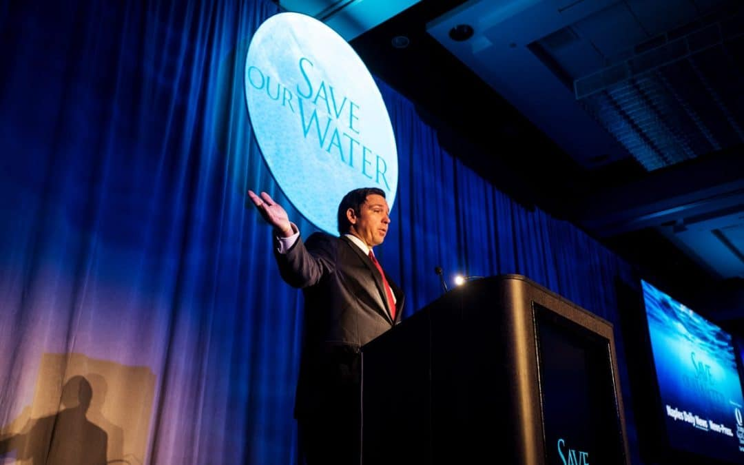 Water Summit-Gov Ron DeSantis