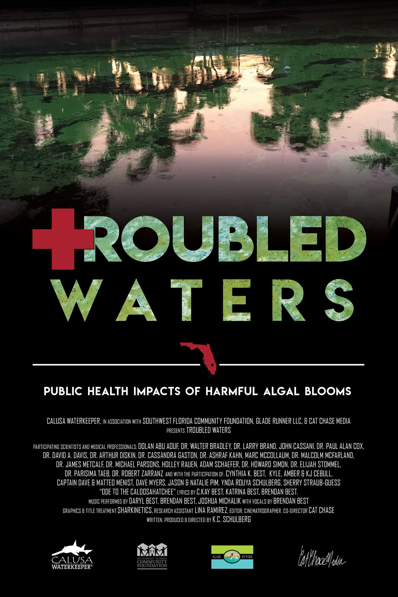 Troubled Waters Movie Poster