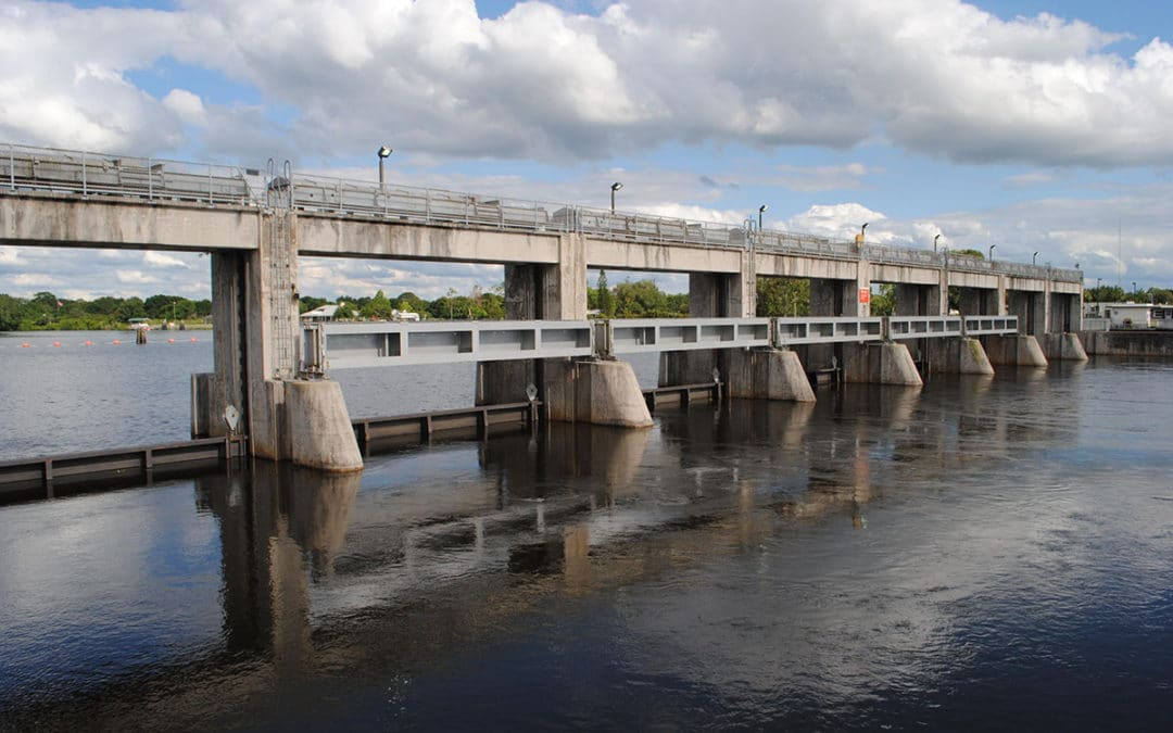 Franklin Lock Spillway and Dam_USACE