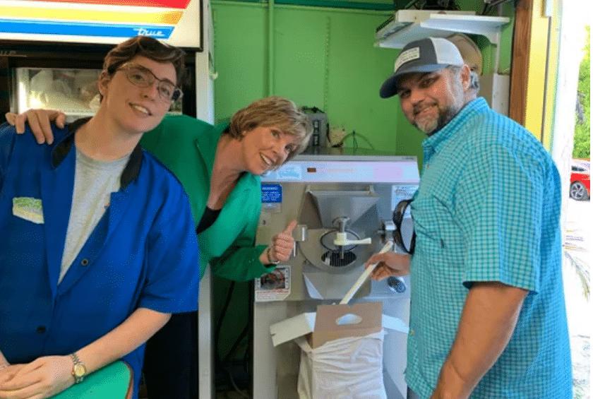 Sanibel Ice Cream Shop launches Bright Azure