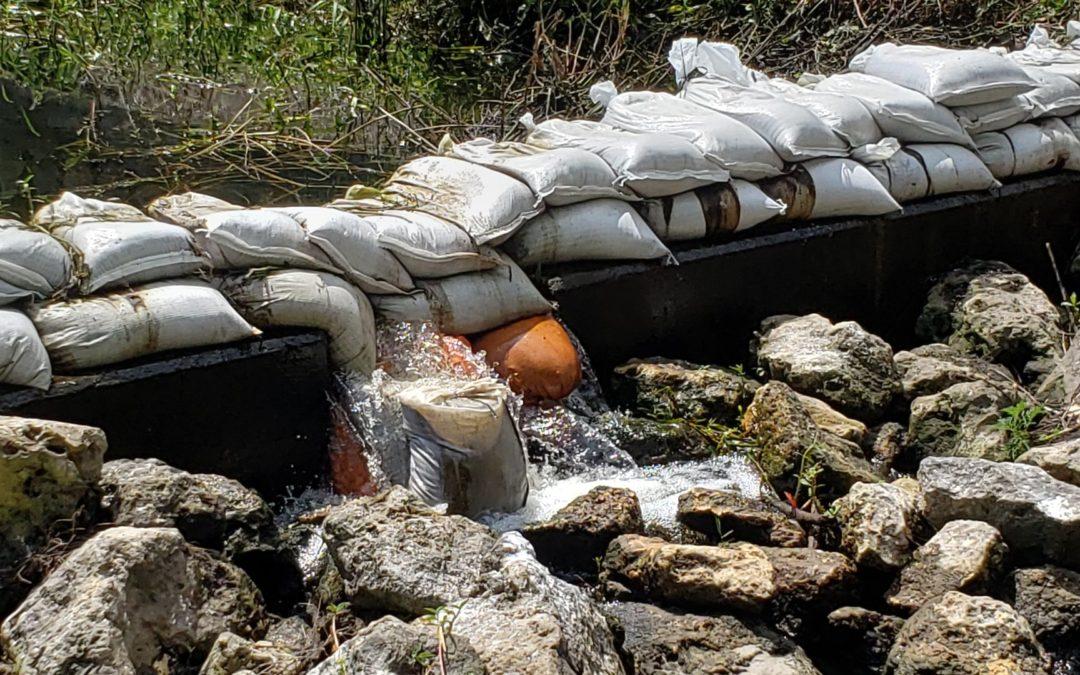 Raw Sewage Spill
