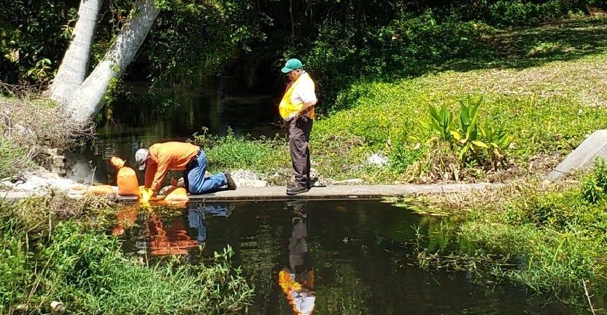 Massive Raw Sewage Spill in Fort Myers Flows through McGregor Boulevard Neighborhood