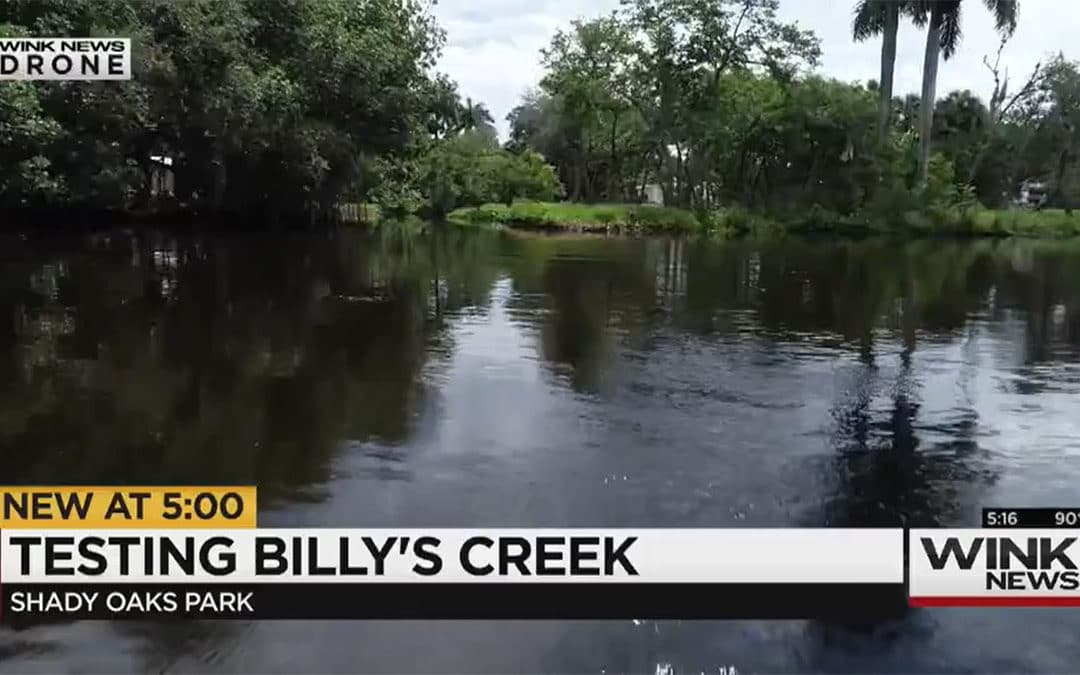 Calusa Waterkeeper Tests for Source of Billy's Creek Contamination