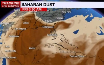 Saharan Dust could Ramp Up Red Tide off our Coast