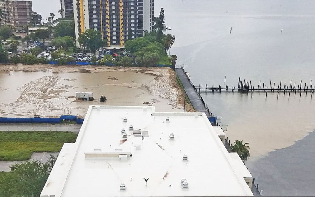 Runoff from Construction Sites Enter Caloosahatchee River
