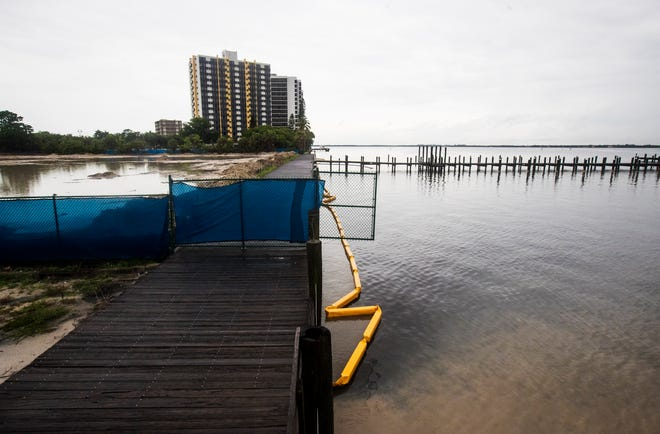 Work Stopped at Two Fort Myers Projects After Storm Runoff Pollutes the Caloosahatchee