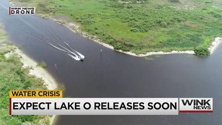 Lake O Releases to Caloosahatchee Expected soon due to Water Level