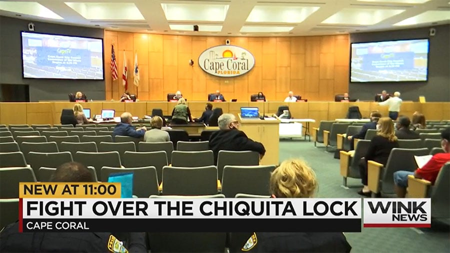 Cape Coral seeks $2M in State Funding to Push for Chiquita Lock Removal