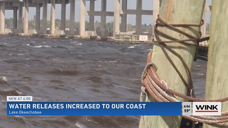 Lake O Releases Being Sent to Caloosahatchee to Avoid Wet Season Problems