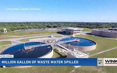 One Million Gallons of Untreated Wastewater Spilled in Charlotte County