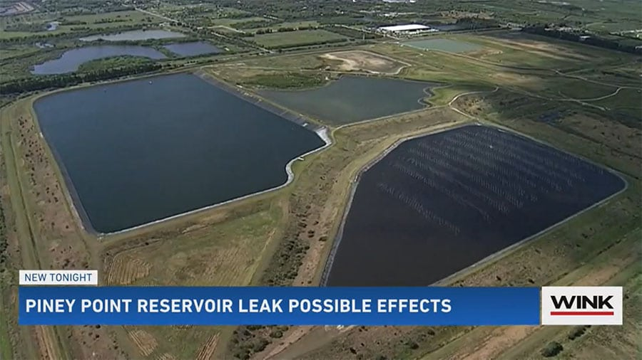 Hazardous Water Leaking from Retention Pond in Manatee County Might Impact Southwest Florida