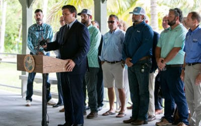 DeSantis Urges Balance in Lake O Releases – Emergency Order Over Water Quality Unnecessary