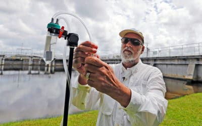 How Much Dangerous Algae Toxin is in the Air?