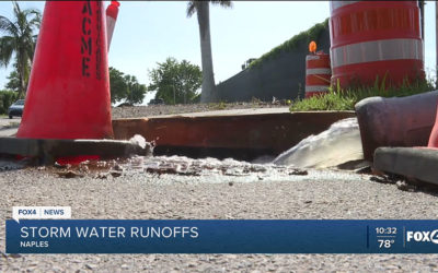 Calusa Waterkeeper Concerned About Impact of Large Storm Plume Seen in Naples Bay