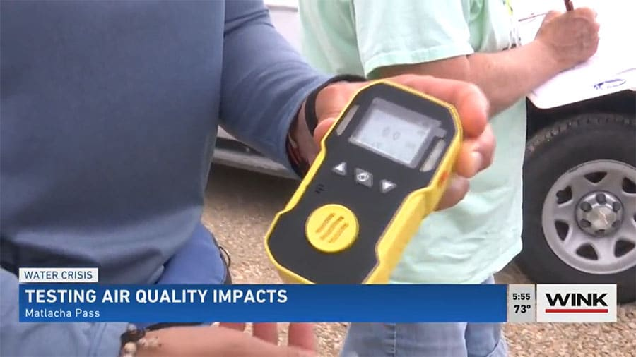 Group Tests Air Quality Impacts of Decomposing Algae