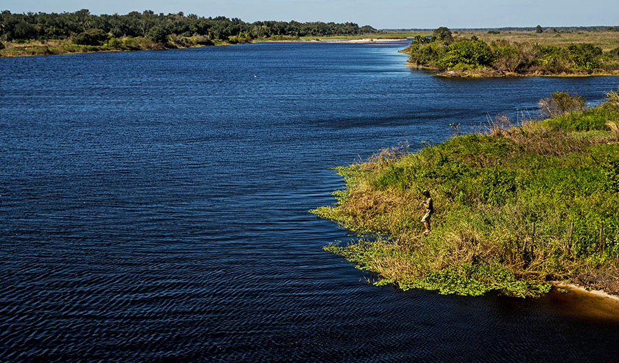Kissimmee River restored oxbows