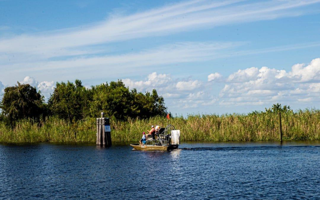 airboat Lake O